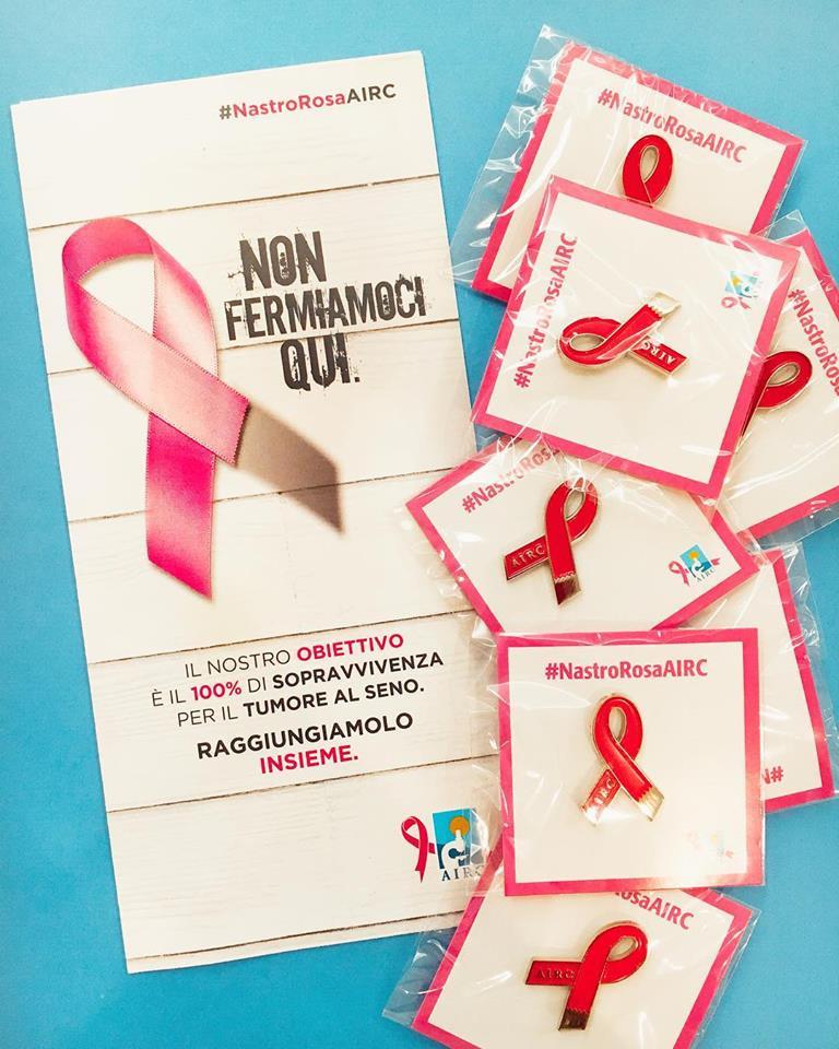Nastro Rosa AIRC – ottobre mese della prevenzione